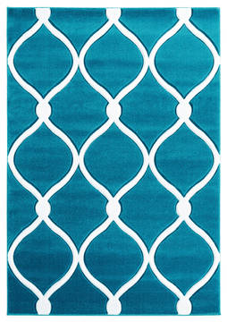 "United Weavers Bristol Blue 1'0"" X 2'0"" Area Rug 2050 11569 24 806-123882"