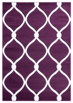 "United Weavers Bristol Purple Runner 2'0"" X 7'0"" Area Rug 2050 11582 28C 806-123895"
