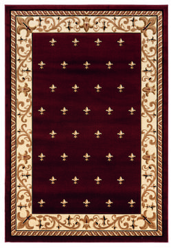 "United Weavers Bristol Red 7'0"" X 10'0"" Area Rug 2050 11634 912 806-123917"