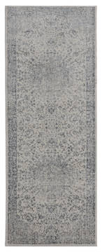 "United Weavers Clairmont Grey Runner 2'0"" X 7'0"" Area Rug 4000 40072 28E 806-124051"