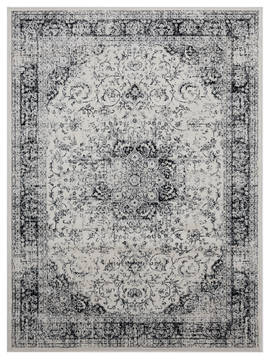 "United Weavers Clairmont Grey 1'0"" X 3'0"" Area Rug 4000 40076 24 806-124057"