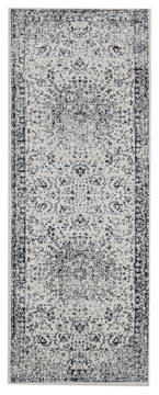 "United Weavers Clairmont Grey Runner 2'0"" X 7'0"" Area Rug 4000 40076 28E 806-124058"