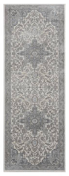 "United Weavers Clairmont Grey Runner 2'0"" X 7'0"" Area Rug 4000 40172 28E 806-124079"