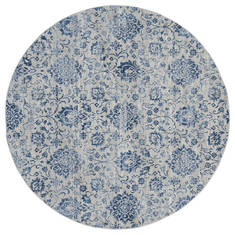 "United Weavers Clairmont Blue Round 7'0"" X 7'0"" Area Rug 4000 40261 88R 806-124095"