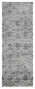 "United Weavers Clairmont Grey Runner 2'0"" X 7'0"" Area Rug 4000 40276 28E 806-124100"