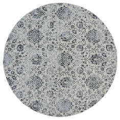 "United Weavers Clairmont Grey Round 7'0"" X 7'0"" Area Rug 4000 40276 88R 806-124102"