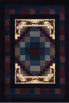 "United Weavers Manhattan Blue 7'0"" X 10'0"" Area Rug 940 13064 912 806-124259"