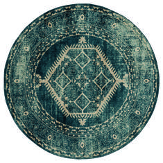 "United Weavers Marrakesh Blue Round 7'0"" X 7'0"" Area Rug 3801 30362 88R 806-124329"