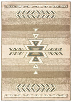 "United Weavers Miami Brown 1'0"" X 3'0"" Area Rug 3003 40652 24 806-124391"