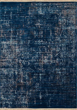 United Weavers Monaco Blue Rectangle 1x2 ft Polyester Carpet 124462