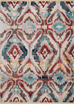 United Weavers Monaco Multicolor Rectangle 1x2 ft Polyester Carpet 124511