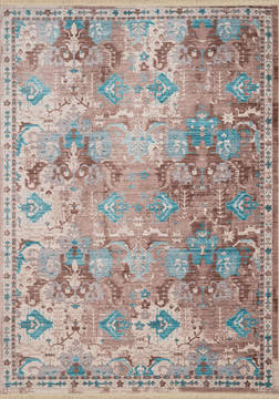 "United Weavers Monaco Blue Runner 2'0"" X 7'0"" Area Rug 1950 10963 28B 806-124533"