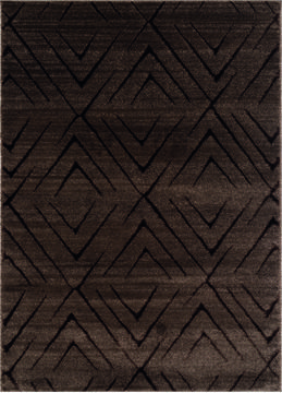 "United Weavers Mystique Brown 5'0"" X 7'0"" Area Rug 1955 02350 58 806-124584"