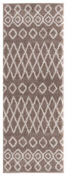 "United Weavers Tranquility Beige Runner 2'0"" X 7'0"" Area Rug 1840 20126 28E 806-125131"