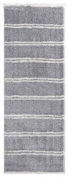 "United Weavers Tranquility Grey Runner 2'0"" X 7'0"" Area Rug 1840 20372 28E 806-125167"