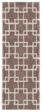 "United Weavers Tranquility Beige Runner 2'0"" X 7'0"" Area Rug 1840 20526 28E 806-125215"