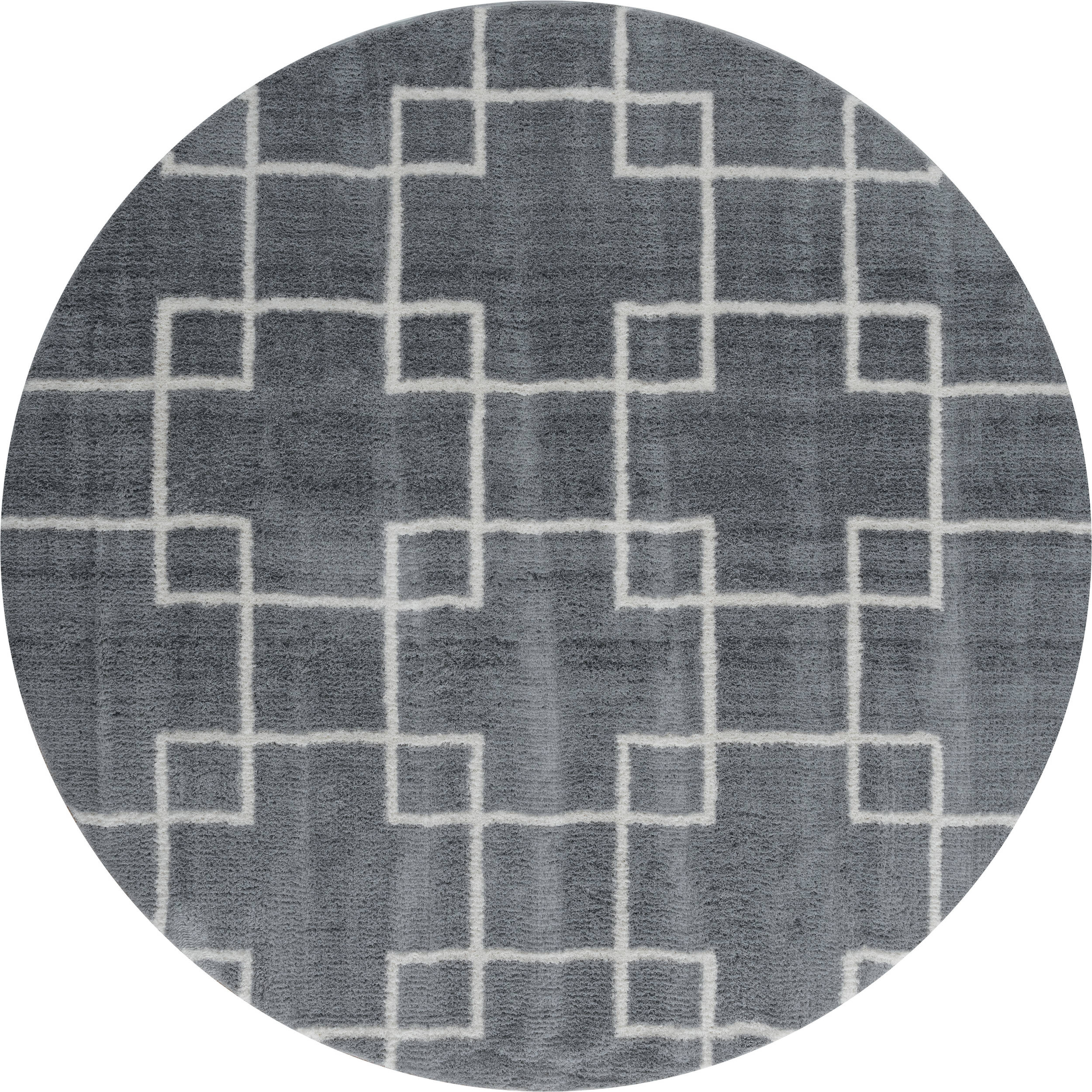 United Weavers Tranquility Grey Round 7 To 8 Ft Carpet 125230 Sku 125230