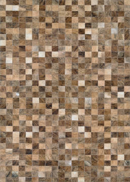 Couristan CHALET Brown Rectangle 3x5 ft Hand Crafted Carpet 125940