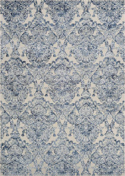 "Couristan CIRE Blue Runner 2'7"" X 7'6"" Area Rug 39296561027076U 807-126054"