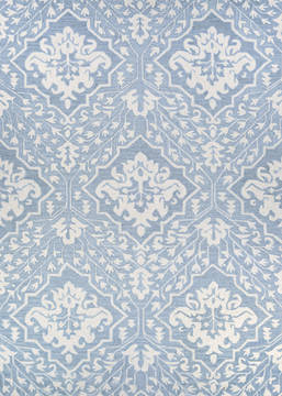"Couristan CRAWFORD Blue 2'0"" X 3'0"" Area Rug 30640302020030T 807-126277"
