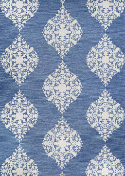 "Couristan CRAWFORD Blue Runner 2'3"" X 7'6"" Area Rug 30650310023076U 807-126288"