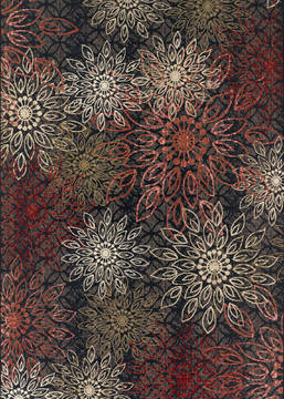 "Couristan DOLCE Multicolor Runner 2'3"" X 7'10"" Area Rug 40390760023710U 807-126333"