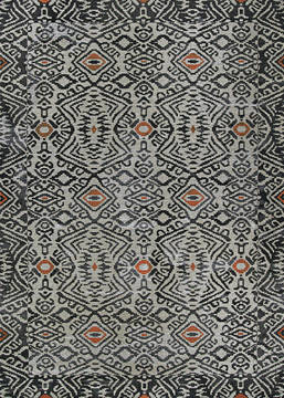 "Couristan DOLCE Grey 2'3"" X 3'11"" Area Rug 55820582023311T 807-126367"