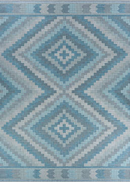"Couristan HARPER Blue Runner 2'3"" X 11'9"" Area Rug 27803127023119U 807-126853"