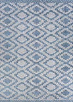 "Couristan HARPER Blue 3'9"" X 5'5"" Area Rug 27523138039055T 807-126885"