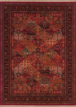 "Couristan KASHIMAR Red 2'2"" X 4'9"" Area Rug 81433203022049T 807-126977"