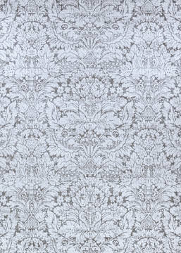"Couristan MARINA Grey Runner 2'2"" X 7'10"" Area Rug 13391399022710U 807-127090"