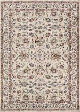 Couristan MONARCH Beige Rectangle 3x5 ft Polypropylene Carpet 127417