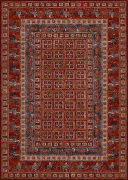 "Couristan OLD WORLD CLASSIC Red Runner 2'2"" X 8'11"" Area Rug 16601300022811U 807-127634"
