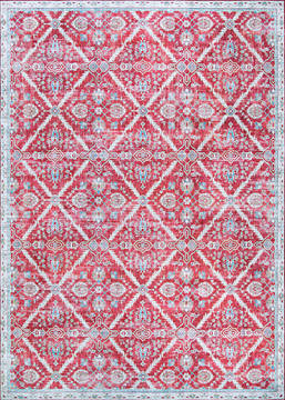 "Couristan PASHA Red Runner 2'0"" X 8'0"" Area Rug 50810081020080U 807-127736"