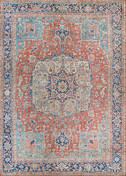 "Couristan PASHA Red 5'0"" X 8'0"" Area Rug 47480474050080T 807-127741"