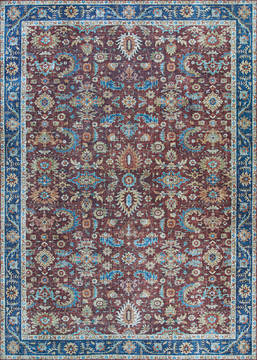 "Couristan PASHA Blue 5'0"" X 8'0"" Area Rug 46930931050080T 807-127745"