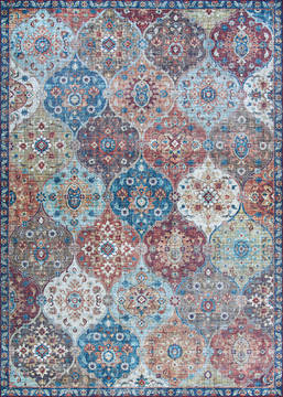 "Couristan PASHA Multicolor Runner 2'0"" X 8'0"" Area Rug 47170717020080U 807-127748"