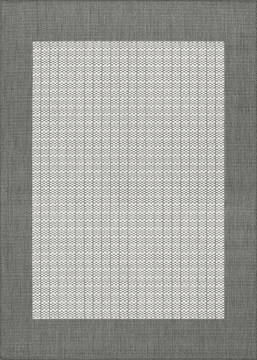 "Couristan RECIFE Grey Runner 2'3"" X 7'10"" Area Rug 10053012023710U 807-127914"