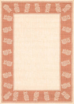 "Couristan RECIFE Brown Square 7'6"" X 7'6"" Area Rug 11771112076076Q 807-128313"