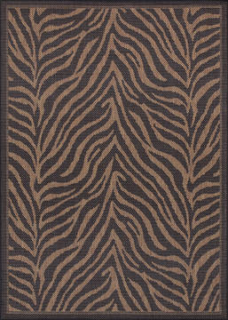 "Couristan RECIFE Brown Square 7'6"" X 7'6"" Area Rug 15140121076076Q 807-128420"