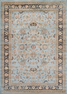 "Couristan ZAHARA Blue 3'11"" X 5'3"" Area Rug 14430299311053T 807-128791"
