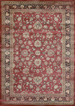 "Couristan ZAHARA Red Runner 2'7"" X 7'10"" Area Rug 14430280027710U 807-128802"