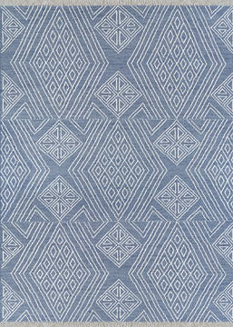 "Couristan CLOVER Blue 9'0"" X 12'0"" Area Rug 40540404090120T 807-128835"