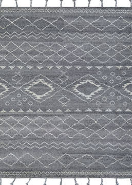Couristan LIMA Grey Rectangle 2x4 ft Wool Carpet 128929