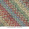 Homespice Jute Braided Rug Multicolor Oval 40 X 60 Area Rug 503145 816-129823 Thumb 2