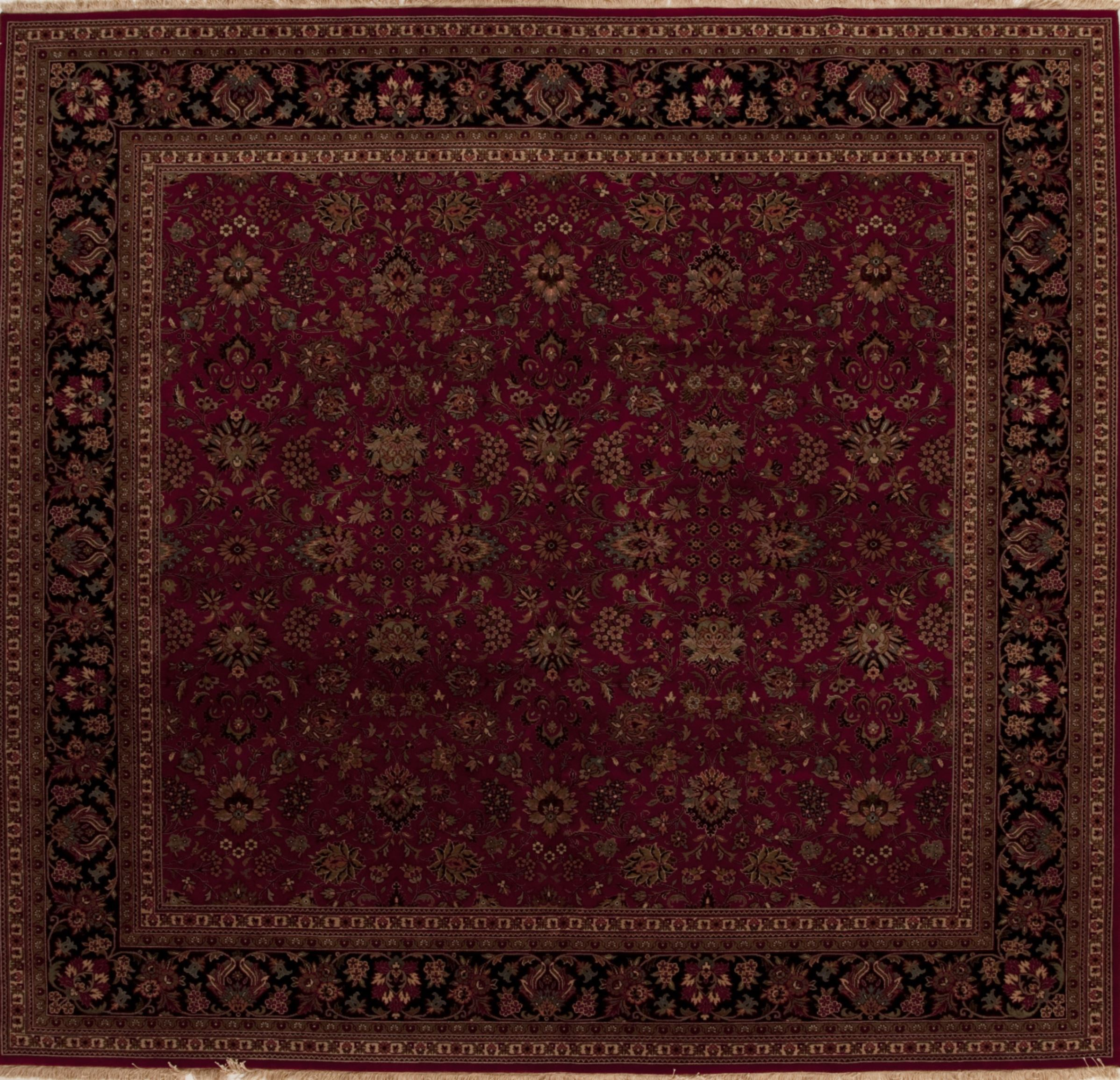 Red Square 9 Ft And Larger Wool Carpet