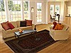 Kashan Red Hand Knotted 69 X 911  Area Rug 251-13845 Thumb 4