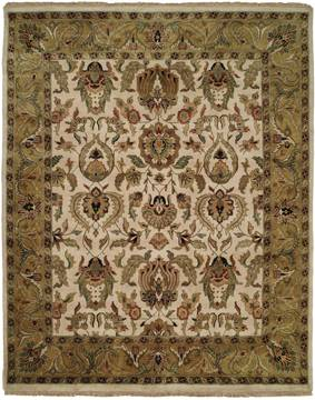 Kalaty JAIPURA Black Rectangle 6x9 ft Wool Carpet 133229