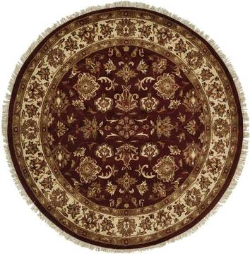 "Kalaty LATEEF Red Round 6'0"" X 6'0"" Area Rug LT-801 R6 835-133339"