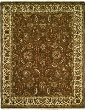 "Kalaty LATEEF Brown Round 6'0"" X 6'0"" Area Rug LT-802 R6 835-133340"
